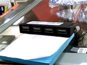TARGUS Computer Accessories 4-PORT HUB, BLACK/GRAY (ACH114US)